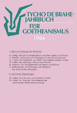 Jahrbuch für Goetheanismus 1984