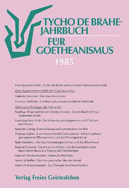 Jahrbuch für Goeteanismus
