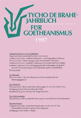 Jahrbuch für Goetheanismus 1997