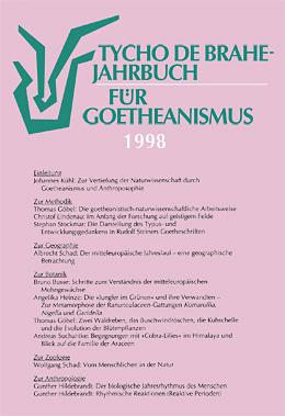 Jahrbuch für Goetheanismus 1998
