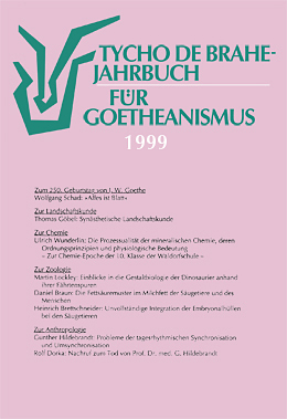 Jahrbuch für Goetheanismus