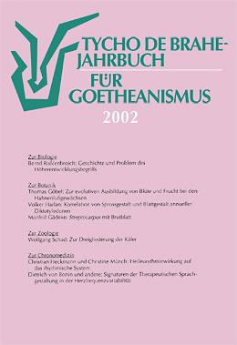 Jahrbuch für Goetheanismus 2002