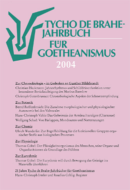 Jahrbuch für Goetheanismus 2004