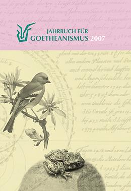 Jahrbuch für Goetheanismus 2007