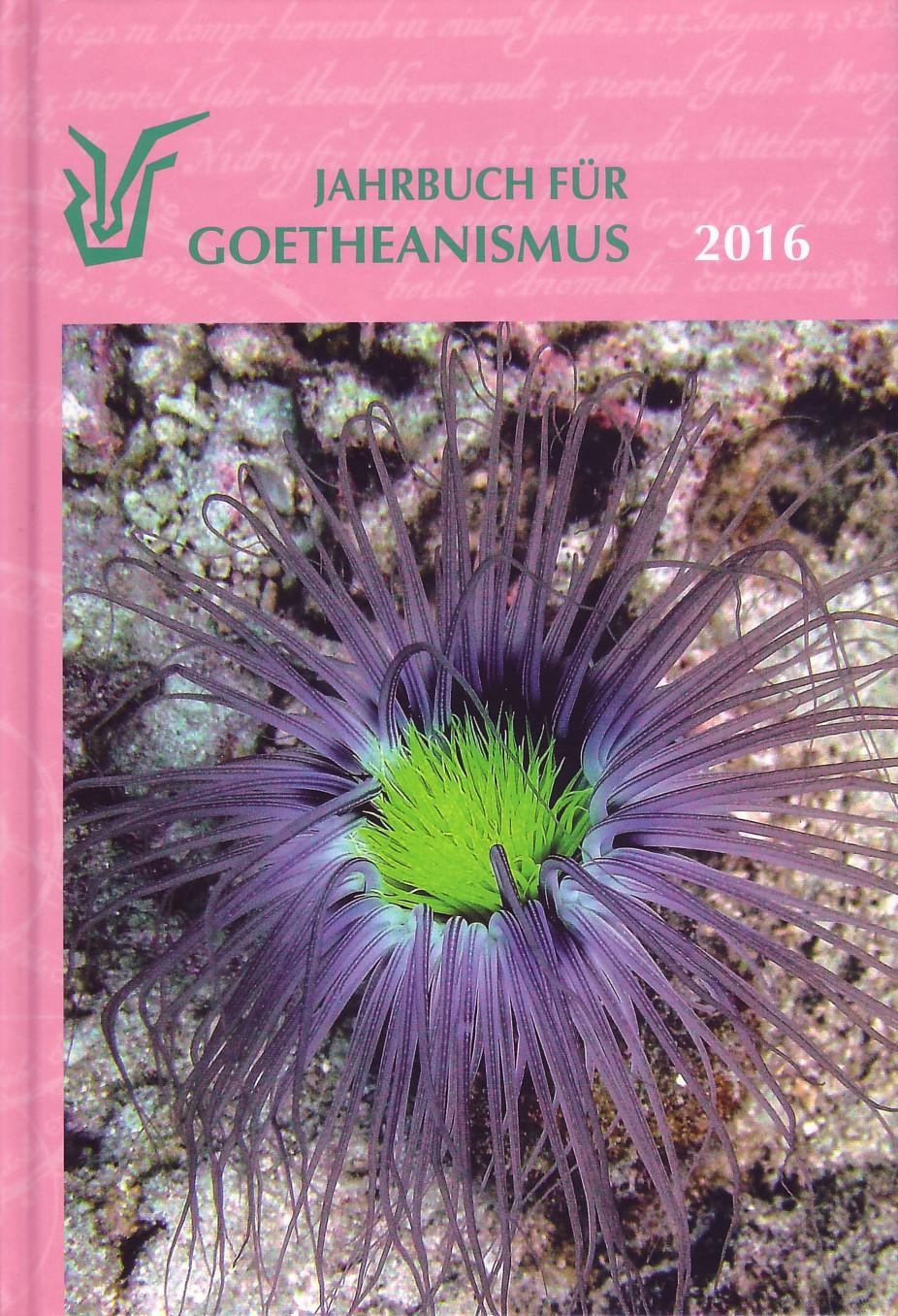Jahrbuch für Goetheanismus 2016